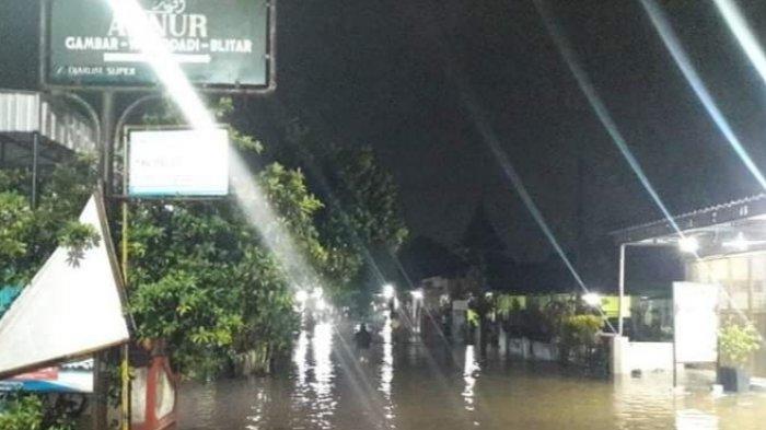 Air Sungai Meluap, 4 Desa di Wonodadi Blitar Kebanjiran