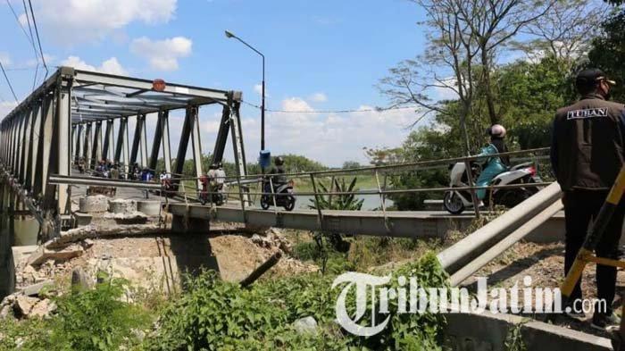 Alokasi Anggaran Perbaikan Jembatan Glendeng Tuban Capai Rp 4,17 M, Target Akhir Desember Rampung