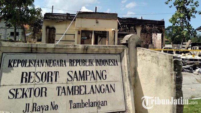 Sidang Kasus Pembakaran Polsek Tambelangan Dilaksanakan di Surabaya, Khawatir Picu Keributan