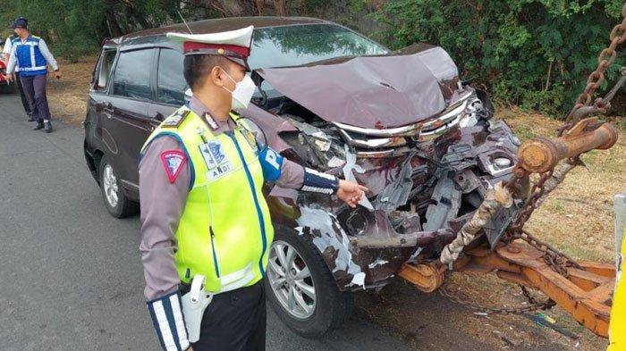 Tabrakan Beruntun di Tol Satelit Surabaya Libatkan 3 Mobil dan 1 Bus, Bermula Suzuki Ertiga Ngerem