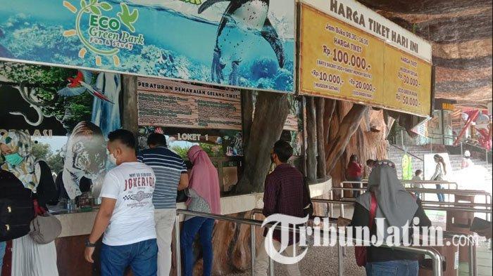 Hari Kedua Pembukaan Jatim Park 2 Kota Batu Pasca Ditutup, Jumlah Pengunjung Meningkat 100 Persen