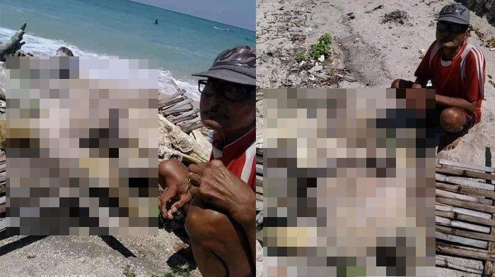 Mayat Misterius di Pulau Mandangi, Kades Sebut Bukan Warga Setempat, Belum Bisa Dievakuasi