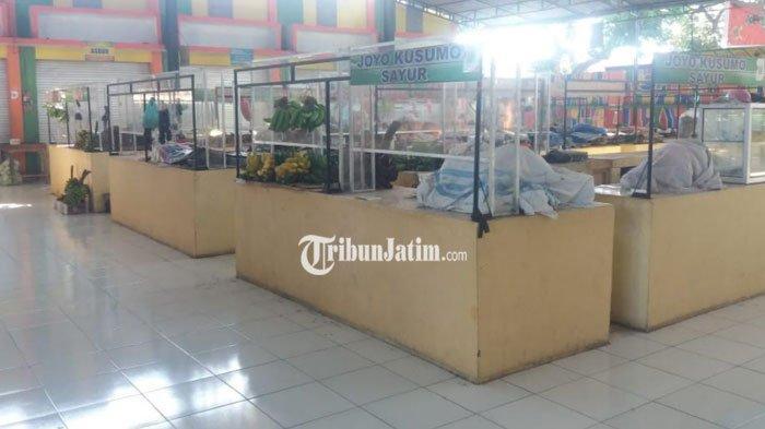 Hindari Kedatangan Tim Tracing, Pedagang di Pasar Mangaran Situbondo Kompak Tak Berjualan