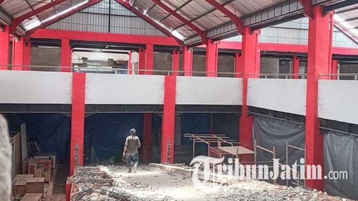 Pembangunan Kios di Lantai Dua Pasar Legi Kota Blitar Mulai Dilanjutkan, Siapkan Anggaran Rp 7 M