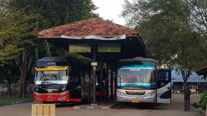 Sebelum Larangan Mudik, Penumpang Bus Terminal Arya Wiraraja Sumenep Meningkat