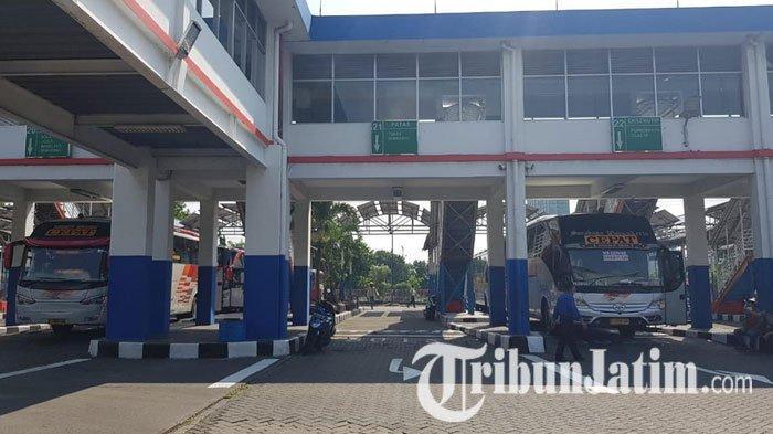 Terminal Purabaya Masih Sepi Penumpang & Armada Bus, Diprediksi Bakal Normal Mulai Pekan Depan
