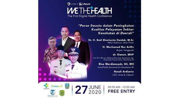 Konferensi Digital 'We The Health' Digelar Hari Ini! Ngobrolin Kesehatan Bareng Ahli dan Wagub Jatim