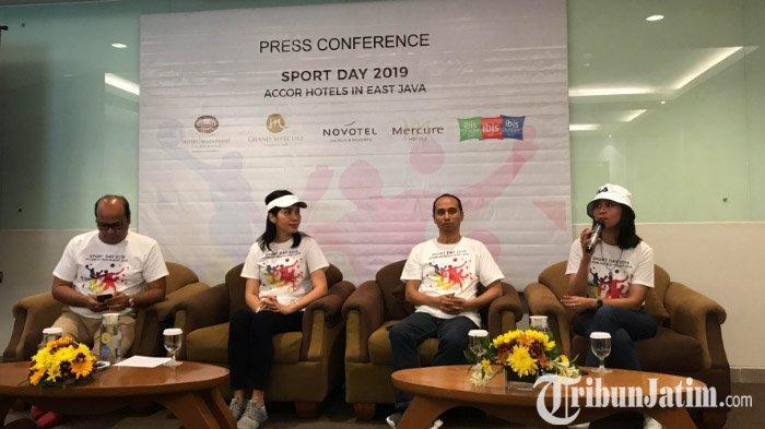 LIVE: Tanamkan Nilai Sportifitas, Accor Hotel Se-Jatim Ajak Ratusan Karyawan Ikuti Accor Sport Day