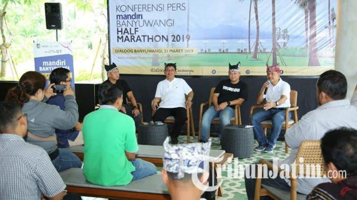 Gandeng Bank Mandiri, Banyuwangi Gelar Maraton yang Ajak Peserta Susuri Perkotaan dan Perdesaan