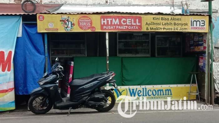 Pasca Viralnya Video Penganiayaan Seorang Wanita, Konter Handphone HTM Cell di Malang Tutup