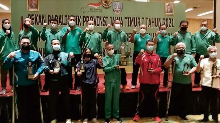Atlet Trenggalek Jadi Juara Umum Kedua Pekan Paralimpik Jawa Timur 2021, Borong 8 Medali Emas