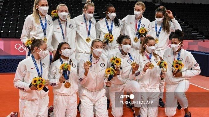 Klasemen Akhir Olimpiade Tokyo 2020 - Salip China, AS Juara Umum, Indonesia Perigkat Berapa?