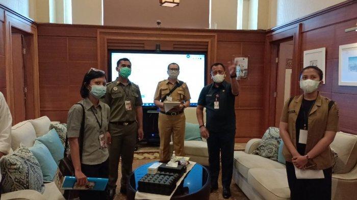 Satgas Covid-19 Surabaya Lakukan Assesment Protokol Kesehatan di Kantor Gubernur Jatim