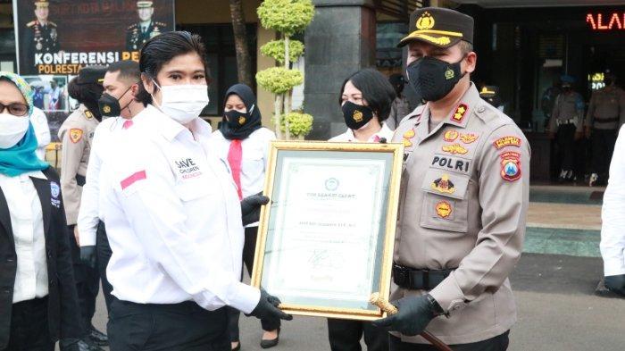 Sukses Tangani Kasus PPA, Polresta Malang Kota Raih Penghargaan TRC Perlindungan Perempuan dan Anak