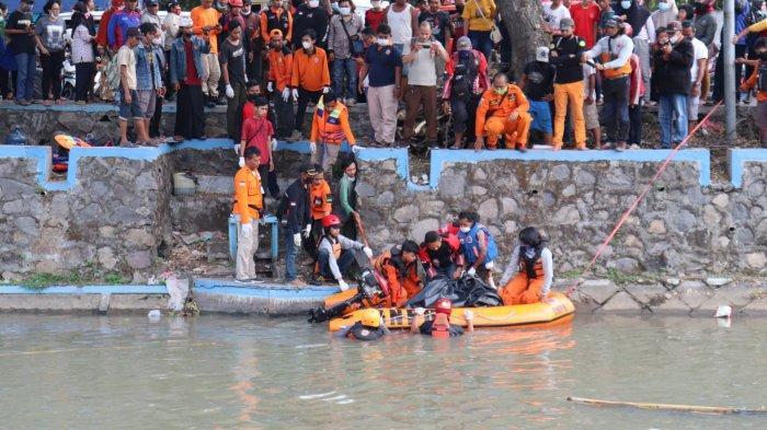 Pria Tenggelam di Kali Prambon Sidoarjo Sudah Ditemukan