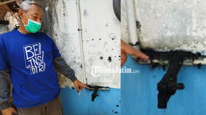 Warga Desa Patianrowo Keluhkan Kotoran Abu Diduga dari Cerobong Asap Pabrik Gula Lestari Nganjuk