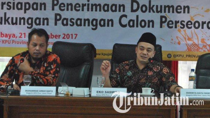 Belum Ada Parpol yang Serahkan Kelengkapan Berkas Syarat Bacaleg di KPU Jatim