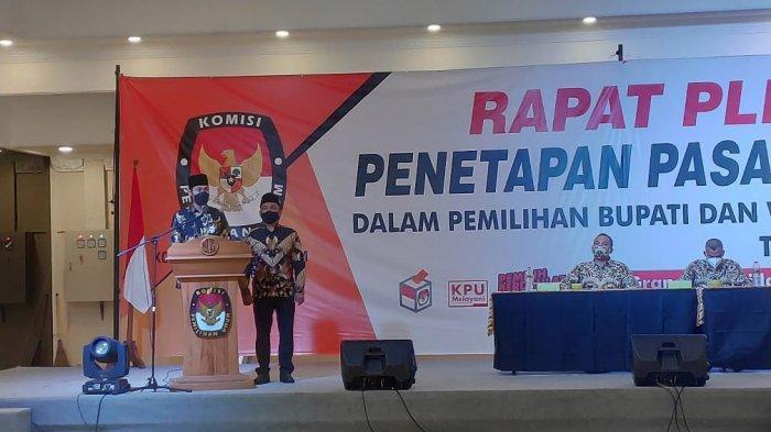 KPU Tetapkan Lindra-Riyadi Bupati dan Wabup Tuban Terpilih