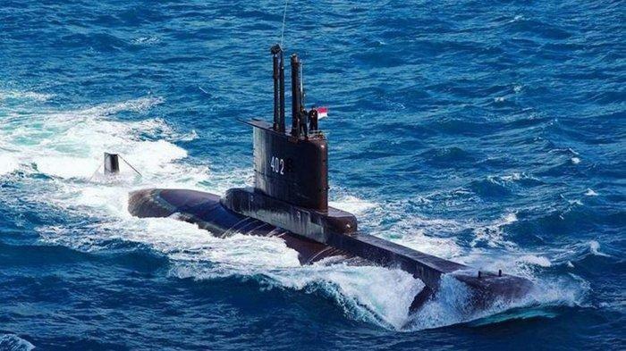 KRI Nanggala 402 yang hilang di laut bali