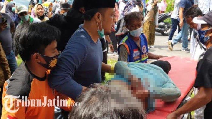 Penangkapan ODGJ di Mojokerto yang Aniaya Tetangga Berlangsung Dramatis, Polisi Kena Sabetan Celurit