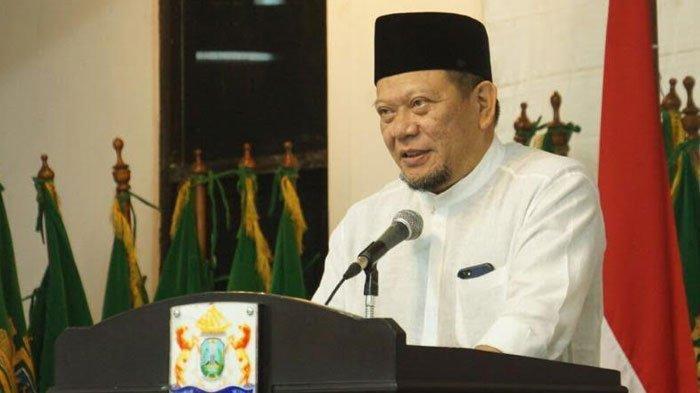 Sosialisasi 4 Pilar di Pesantren, LaNyalla: Tak Relevan Pertentangkan Pancasila dengan Islam