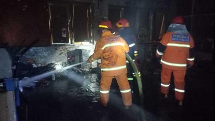 Ruang Laboratorium Manufaktur Universitas Brawijaya Malang Terbakar, Diduga Korsleting Listrik