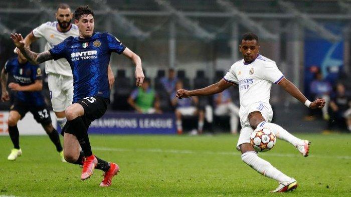 Hasil Inter Milan Vs Real Madrid - Gol Tunggal Bocah 20 Tahun, Bawa Los Blancos Bungkam Nerazzurri