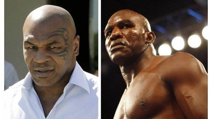 Laga Trilogi Mike Tyson Vs Evander Holyfield Dikabarkan Semakin Dekat, Bisa Hasilkan Uang Rp 1,4 T