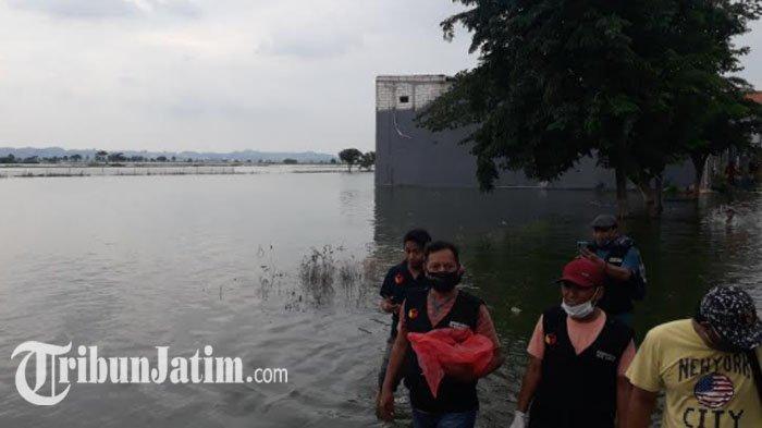 Banjir di Gresik Sejak Awal Tahun 2021, Kerugian Diperkirakan Capai Rp 7,572 Miliar