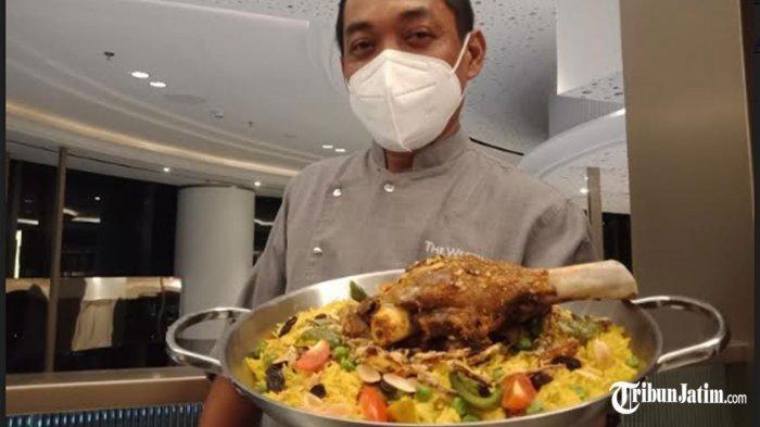 Mengintip Menu Buka Puasa 'Lamb Ouzi', Paha Kambing Australia Marinasi Yogurt dan Arabic Apice