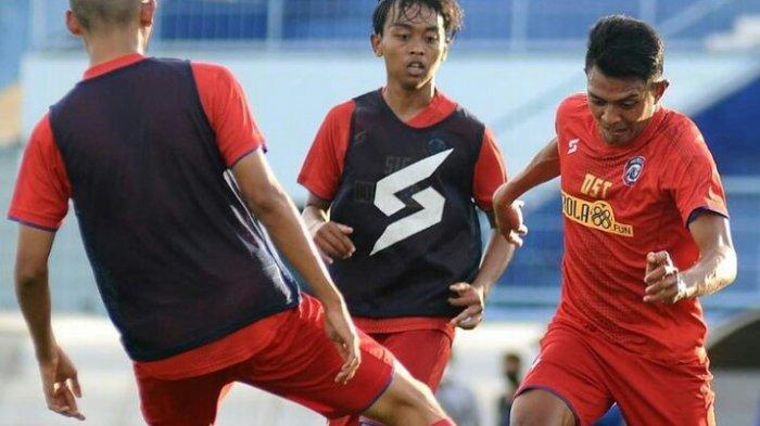 Latihan Perdana Arema FC Diikuti 8 Pemain Senior dan Ada Tiga Wajah Baru, Siapa Saja?