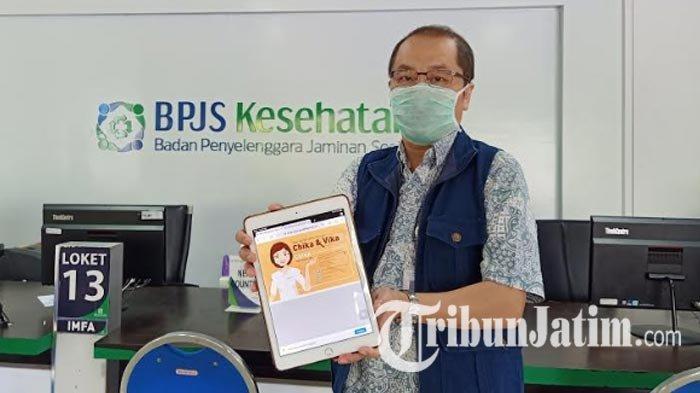 Darurat Corona, BPJS Kantor Cabang Surabaya Permudah Layanan Warga via 'Chika', Cukup dari Rumah
