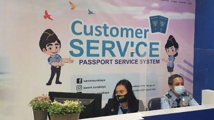 Unit Layanan Paspor Kantor Imigrasi Kelas I Khusus TPI Surabaya Kembali Buka, Kecuali MPP Sidoarjo