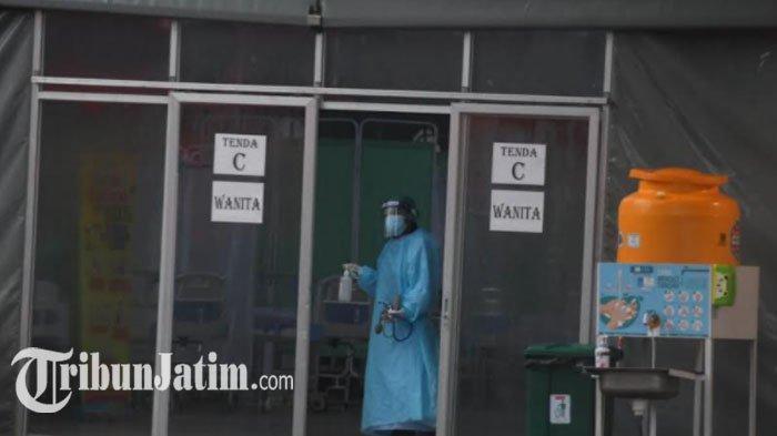Rumah Sakit Lapangan Indrapura Jadi Andalan Sembuhkan Pasien OTG Covid-19