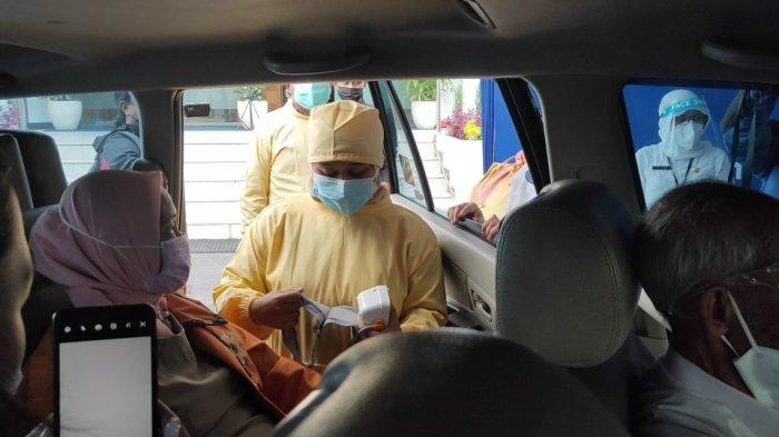 Rayakan HUT Kota Malang ke-107, Pemkot Malang Launching Vaksinasi Drive Thru