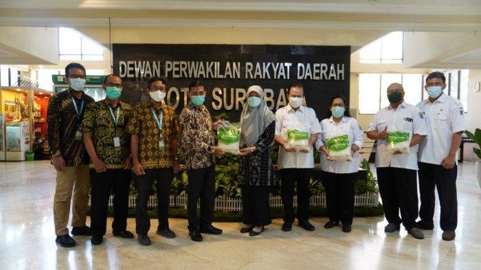 Sambang DPRD Kota Surabaya, Laznas LMI Bahas Kolaborasi Kontribusi Model Pentahelix