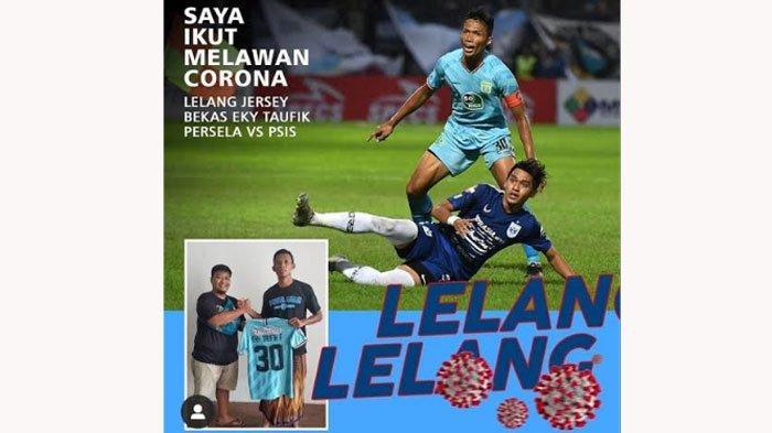 Dukung Tenaga Medis Lawan Corona, Kapten Persela Lemongan Lelang Jersey Pekan Kedua Liga 1 2020