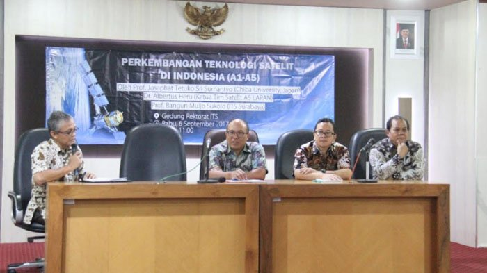 ITS Surabaya Adakan Kuliah Tamu Dengan LAPAN Bicarakan Soal Satelit Canggih