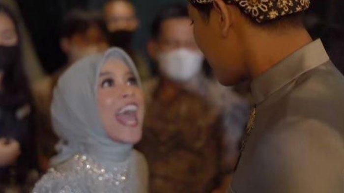Lesty Kejora teriak saat Rizky Billar singgung soal malam pertama setelah acara lamaran