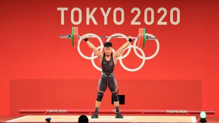 Olimpiade Tokyo 2020 - Angkat Besi Kembali Sumbang Medali Bagi Indonesia Lewat Rahmat Erwin Abdullah