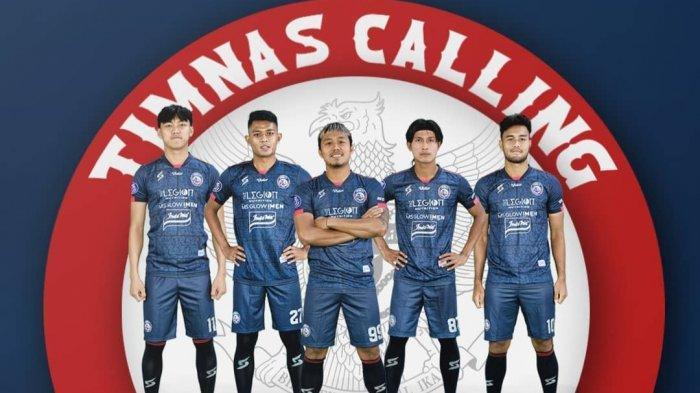 5 Pemain Arema FC Dipanggil Timnas Indonesia, Ada El Capitano John Alfarizi hingga Dedik Setiawan