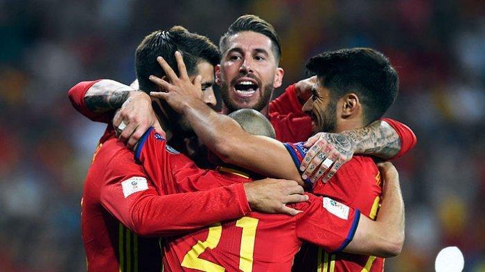 Hasil Spanyol Vs Jerman - Bantai Der Panzer 6-0, La Furia Roja Lolos Semifinal UEFA Nations League
