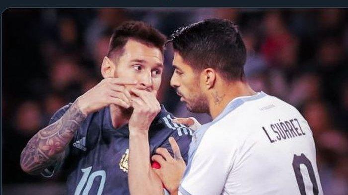 Beda 180 Derajat, Lionel Messi Kembali Permalukan Luis Suarez, Layaknya Striker Kurcaci