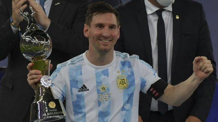 TERPOPULER BOLA: Profil Biodata Angel Di Maria hingga Argentina Berhasil Menjuarai Copa America 2021