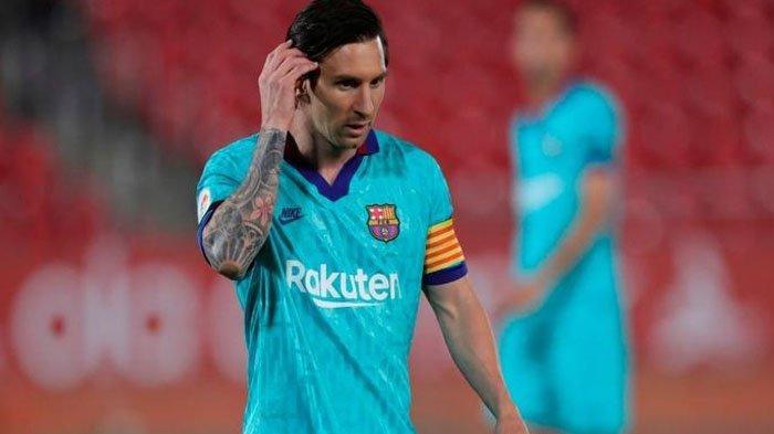 Gagal Eksekusi Penalti, Lionel Messi Torehkan Catatan Buruk di Liga Spanyol