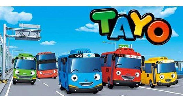 Download MP3 'Hey Tayo' (Hai Tayo) versi Koplo OST 'Tayo the Little Bus'
