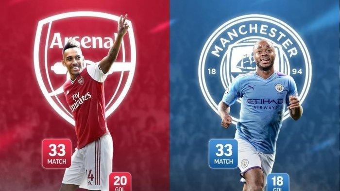Link Live Streaming Arsenal Vs Manchester City - Kick Off 23.30 WIB, The Citizens Favorit Menang?