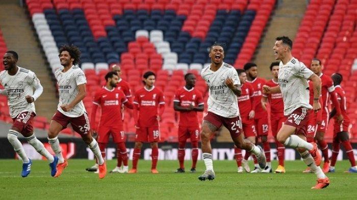 Jadwal dan Link Live Streaming Big Match Liverpool vs Arsenal Piala Liga Inggris, Akses di Sini