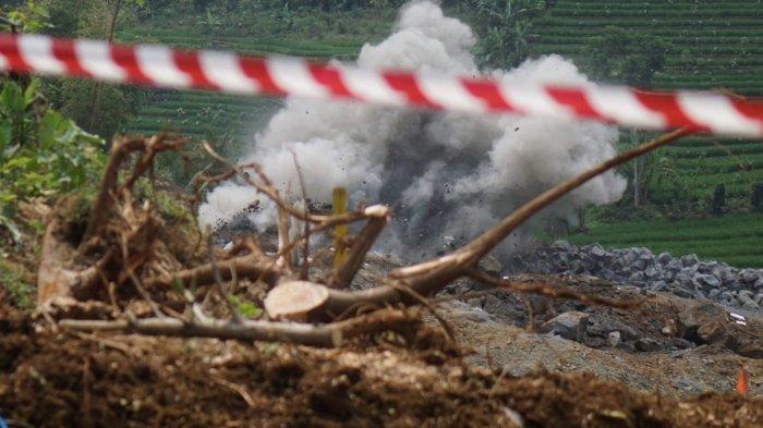 Blasting Bendungan Bagong Dilanjutkan 25 Agustus, Warga Sekitar akan Dievakuasi