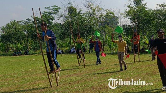 Dinas Pendidikan Kabupaten Kediri Gelar Seleksi Olahraga Permainan Tradisional